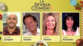 La Divina Comida - Anita Alvarado, Andrés Longton, Roberto Vander y Karin Yanine