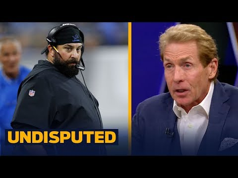Skip Bayless: 'What qualified Matt Patricia to be the head coach' in Detroit? | NFL | UNDISPUTED