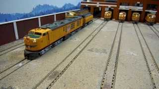The Gas Turbine Division - Union Pacific Standard Turbines - HO Scale lights/sound/motion: QSI Titan
