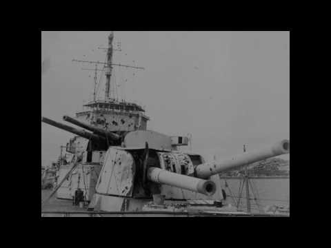 "Radio Reichssender Hamburg - Lord Haw Haw ""Fake News"" about HMS Exeter - December 13, 1939"