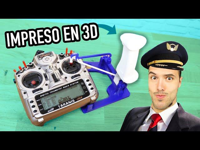 🔥CONVIERTE tu emisora en un JOYSTICK impreso en 3D (HOTAS Flight Simulator)