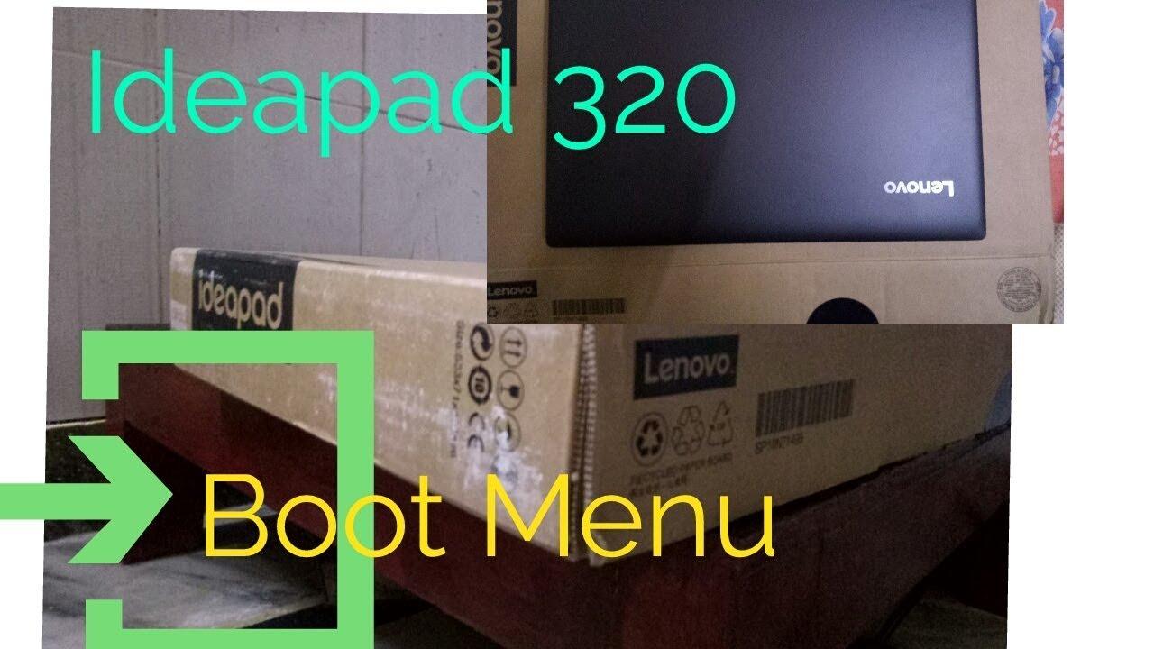 How To Enter Into Bios Setup on Lenovo Ideapad 320 | Boot Menu|