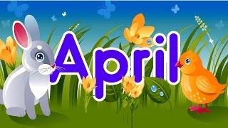 April | Springtime Song for Kids | Jack Hartmann