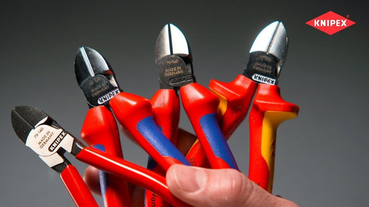 KNIPEX coupante VDE 140 mm