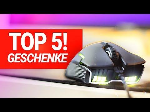 TOP 5 GESCHENKE für GAMER - Die besten Geschenkideen!