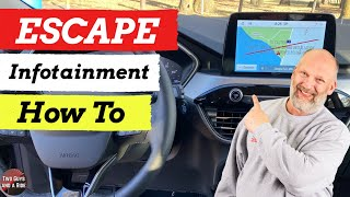 Infotainment How To - 2020 Ford Escape SEL
