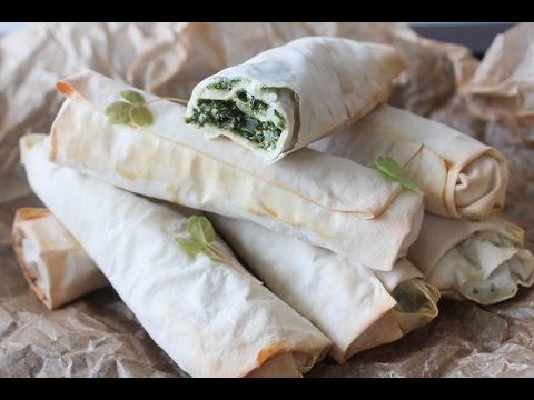 How To Make Spinach And Feta Cheese Rolls - By One Kitchen Episode 467