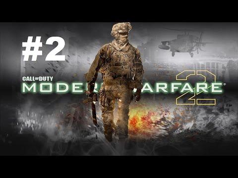 Call of Duty Modern Warfare 2, Прохождение на русском языке #2 Командный игрок