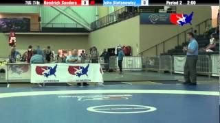 Video University Nat`ls GR 79 KG / 174 lbs: Kendrick Sanders vs. John Stefanowicz download MP3, 3GP, MP4, WEBM, AVI, FLV April 2018