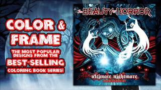 The Beauty of Horror: Ultimate Nightmare Deluxe Coloring Set