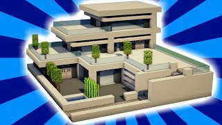 Download Video MINECRAFT : Tutorial Cara Membuat Rumah Besar Modern (1) MP3 3GP MP4