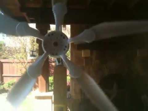 Ceiling Fan Wind Turbine Generator Alternator Free Energy