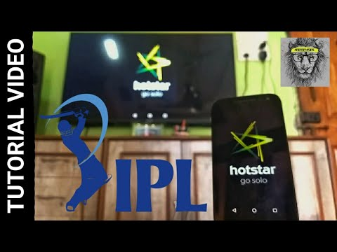 How to Cast Hotstar app on your Smart TV Tutorial Video !! [Root Required]