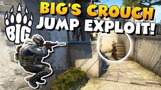 CS:GO - BIG CROUCH JUMP PEEK EXPLOIT AT PGL MAJOR!
