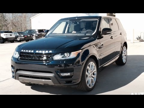 2016 range rover sport autobiography full review exhaust start up short drive youtube. Black Bedroom Furniture Sets. Home Design Ideas