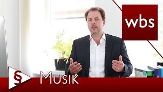 Recht für Youtuber: Musik in Videos benutzen | Kanzlei WBS