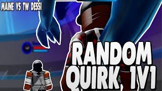 [NEW CODE] RANDOM QUIRK BATTLES VS TW DESSI IN BOKU NO ROBLOX REMASTERED | iBeMaine