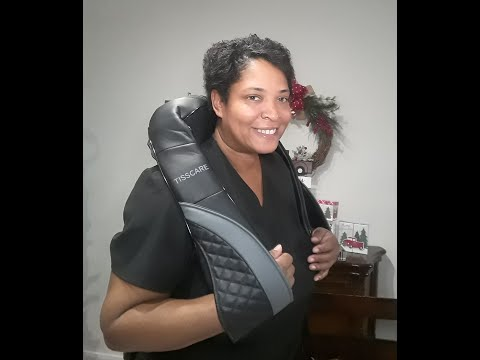 VLOGMAS DAY 2 -  SHIATSU MASSAGE PILLOW