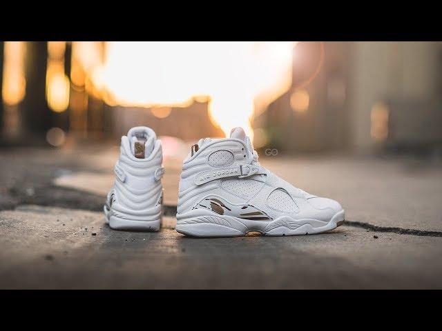 "c429cb7724ab74 Air Jordan 8 Retro OVO ""White"" Review – Sean Go"