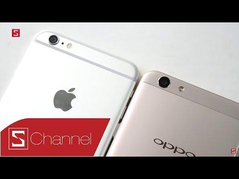 Schannel - So Sánh Thiết Kế Oppo F1s Vs IPhone 6 Plus: Những điểm Giống Nhau Bất Ngờ