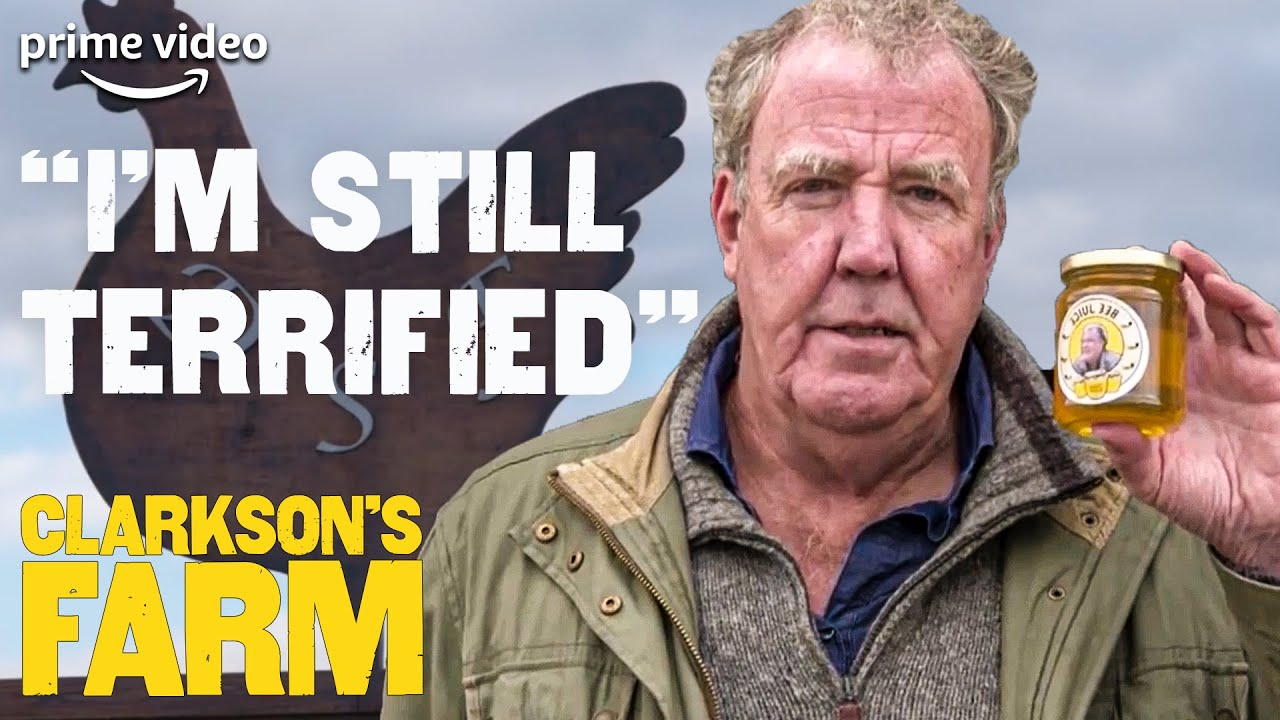How a Bee Ruined Jeremy Clarkson's Day | Behind The Scenes Clarkson's Farm | The Grand Tour