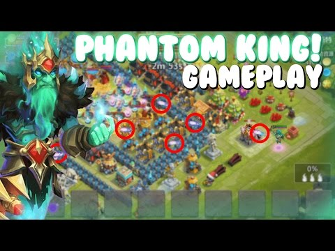 Castle Clash Phantom King In Action/Gameplay!