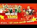 ⚽ NHỮNG NGÔI SAO VÀNG 🇻🇳 Nghệ Sỹ Việt Cổ Vũ U23 Việt Nam Chiến Thắng 🏆