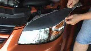 Installation Video -  Headlight Eyelid Decals