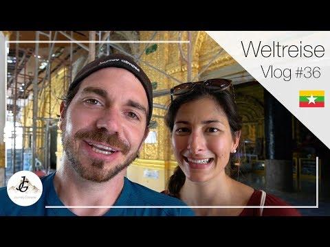 Gold, Gold, Gold! Caves und Pagoden im Südosten von Myanmar   Reise-Vlog #36 🇲🇲
