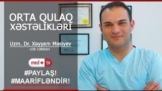 ORTA QULAQ XESTELIKLERI  Uzm. Dr. Xeyyam Mesiyev - LOR Cerrah