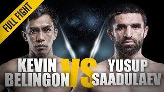 ONE: Full Fight | Kevin Belingon vs. Yusup Saadulaev | A Spectacular Knockout | October 2012
