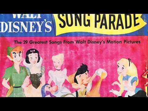 Mickey, Donald & Goofy from WALT DISNEY'S SONG PARADE 1955