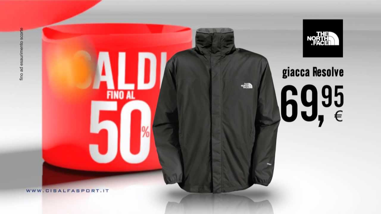 sports shoes d0370 0641c Offerta Saldi - Giacca The North Face a 69,95 by Cisalfa Sport