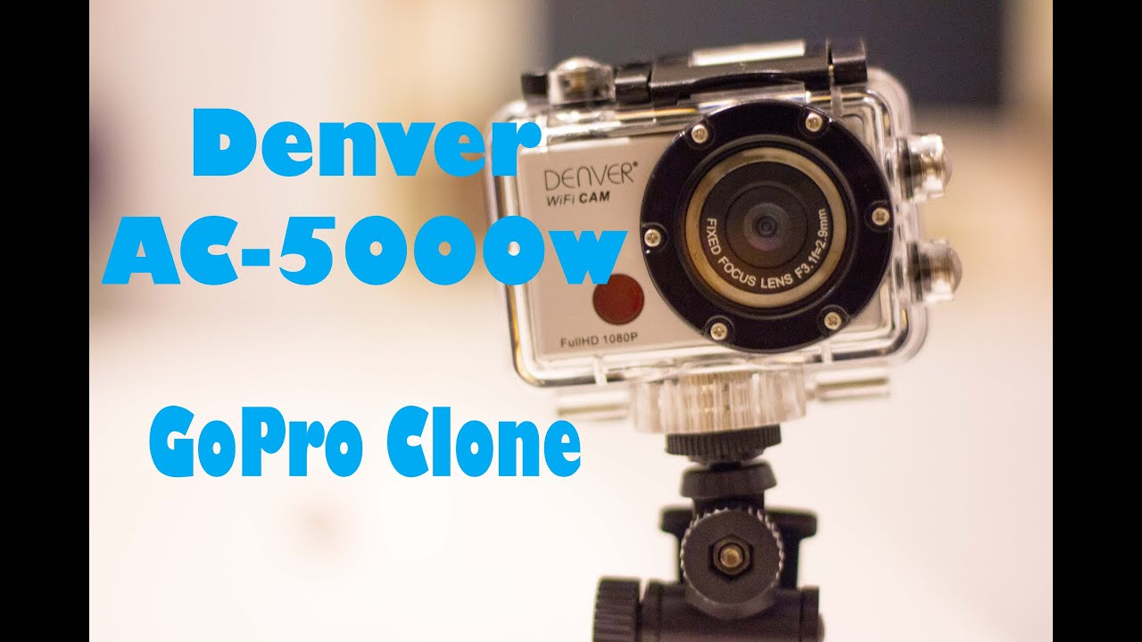 denver ac 5000w gopro clone review youtube. Black Bedroom Furniture Sets. Home Design Ideas