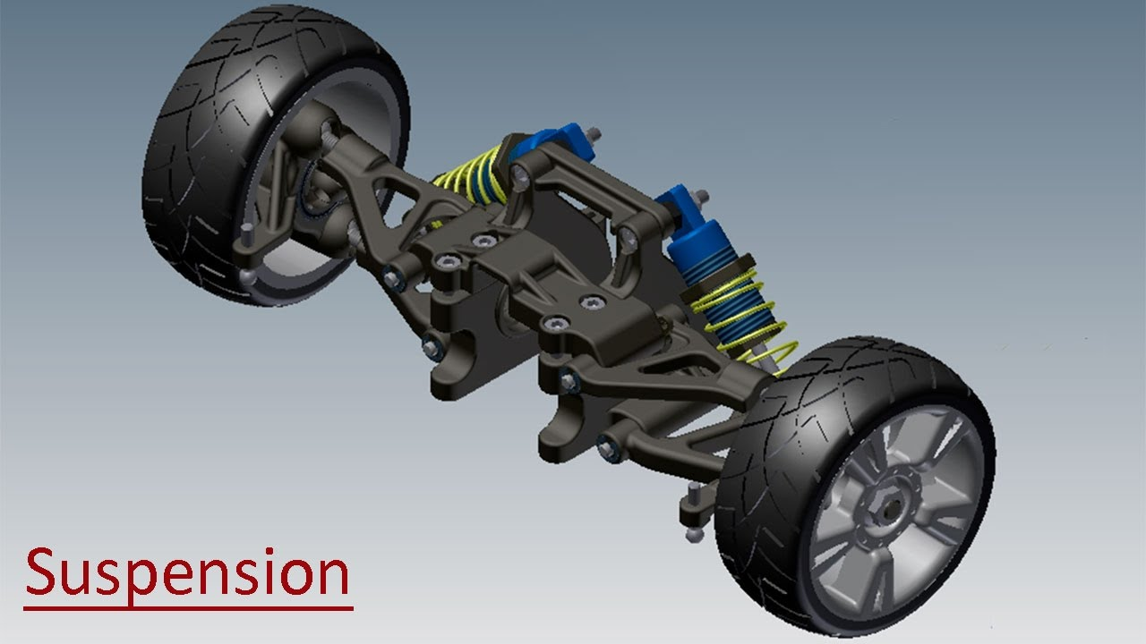 Suspension Video Tutorial Autodesk Inventor Youtube