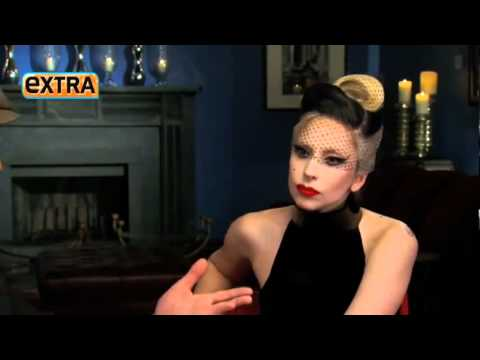 Lady Gaga Interview - Extra.