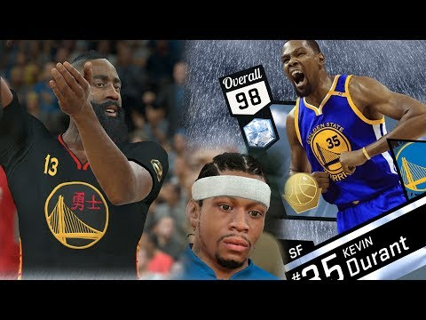 NBA 2K17 My Team - Diamond Finals MVP Durant Debut! PS4 Pro 4K