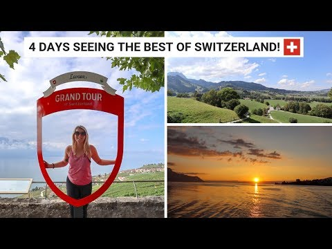 Switzerland Travel Vlog | Exploring Fribourg & Vaud & Doing Summer Outdoor Activities!