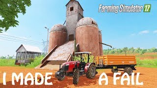 I DID A HUGE FAIL IN HERE in Farming Simulator 2017 | FAIL NATION 4 REAL | PS4 | Xbox One