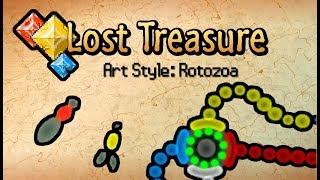 Lost Treasure - Art Style: Rotozoa