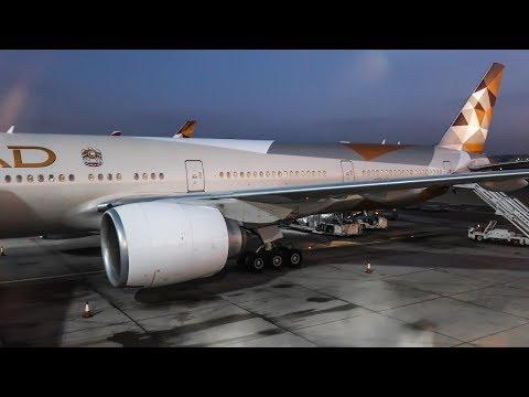 TRIP REPORT | Etihad Airways | Boeing 777-300ER | Bangkok - Abu Dhabi (BKK-AUH) | Economy Class