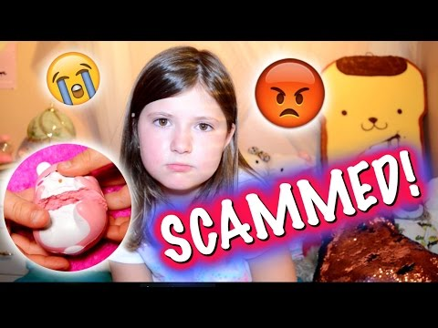 THE WORST SQUISHY PACKAGE EVER!!! IT SMELLS LIKE POOP!I was scammed skit / collab   Se