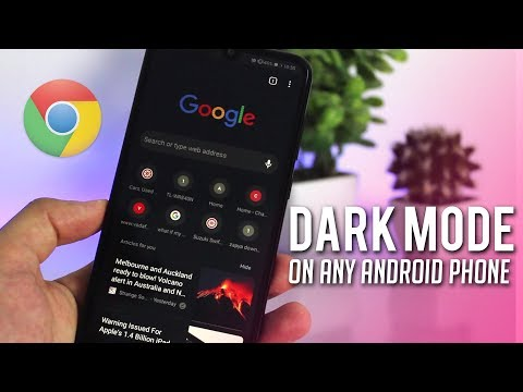 How To Enable Dark Mode/ Night Mode On Google Chrome For Android