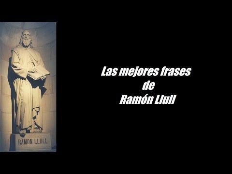 Frases célebres de Ramón Llull