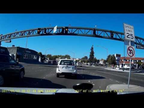 Foothill Blvd in Hayward, California