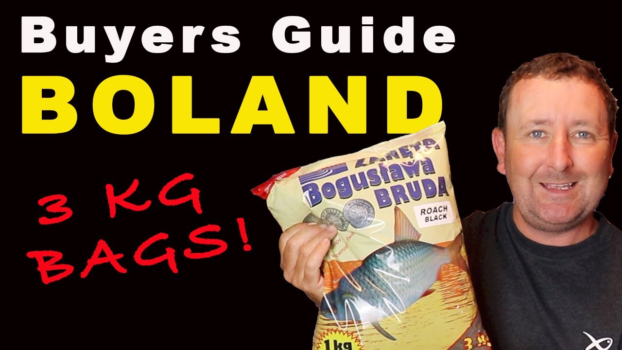 Boland ROACH BLACK Groundbait TANK TESTED - Buyers Guide to Fishing Baits