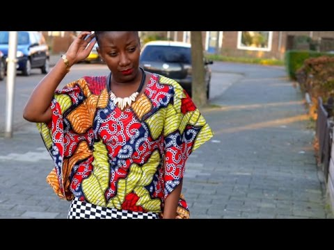 African inspired holidays lookbook (Ankara).