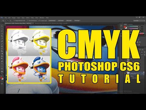 CMYK Separations Tutorial for Screen Printing   Photoshop CS6