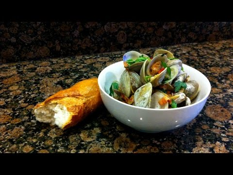 Steamed Clams and Bacon Recipe