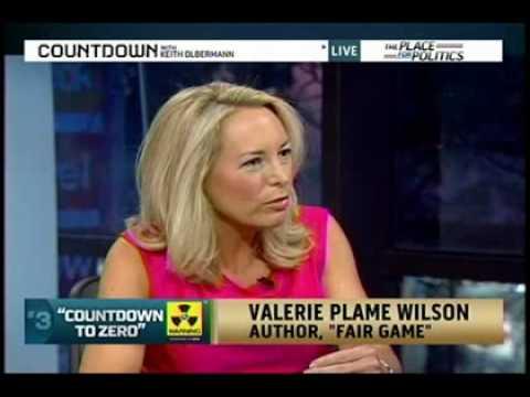 Valerie Plame discusses Iranian proliferation- Countdown